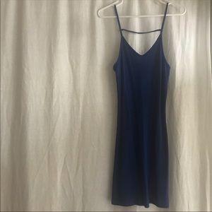 Blue dress top shop